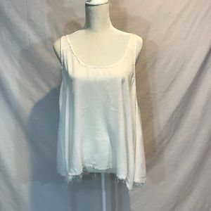 Intimately Free People cream tank. Size M.